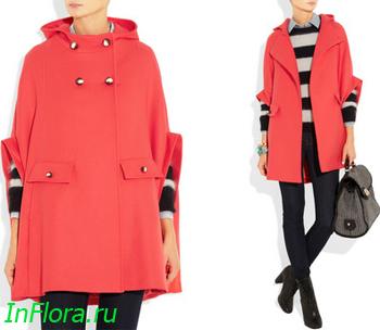 Женское пальто-накидка весна 2012 от Paul