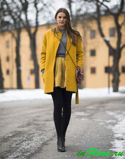 Демисезонное пальто 2017