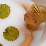лечение целлюлита в домашних условиях молочная ванна